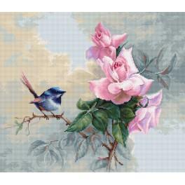 Stickpackung - Vögelchen