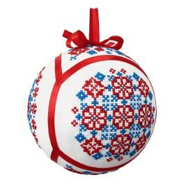 Zahlmuster online - Ethnische Weihnachtskugel IV