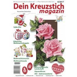 Dein Kreuzstich Magazin 6/2017