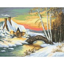 Gobelin - Winterliche Stimmung