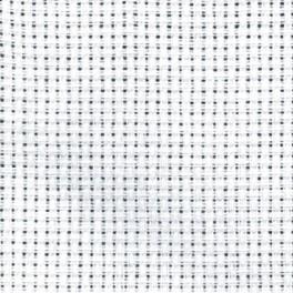 968-01 Kanevas AIDA - Größe 54/10cm (14 ct) Tajlur weiß