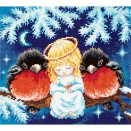 Stickpackung - Weihnachtsgeschichte
