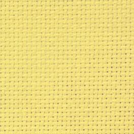 AIDA 54/10cm (14 ct) - Bogen 50x100 cm gelb