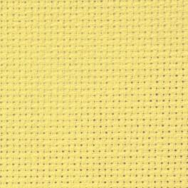 AIDA 54/10cm (14 ct) - Bogen 15x20 cm gelb