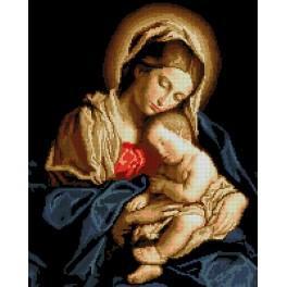 Zählmuster - Madonna mit Kind