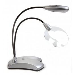 Mini-Lupe mit Lampe LED 2