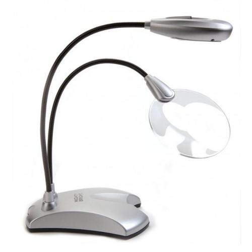 Mini-Lupe mit Lampe LED 2