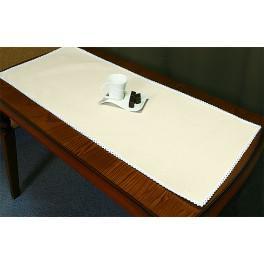 Tischläufer Aida 45x110 cm ecru