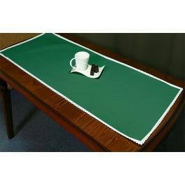 Tischläufer Aida 45x110 cm grün