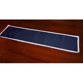 Tischläufer Aida 117x21 cm dunkelblau