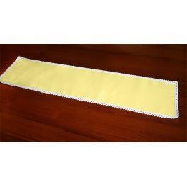 Tischläufer Aida 117x21 cm gelb