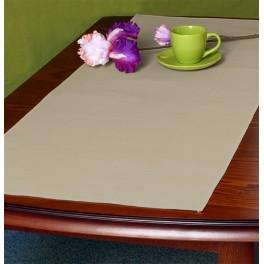 Tischläufer Aida 45x110 cm cappuccino