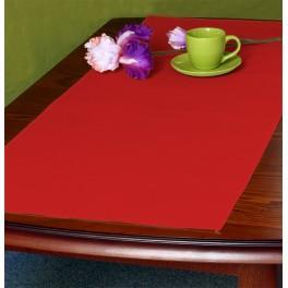 Tischläufer Aida 45x110 cm rot