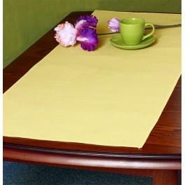 Tischläufer Aida 45x110 cm gelb
