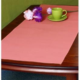 Tischläufer Aida 45x110 cm säuglingsrosa