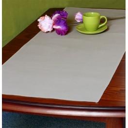 Tischläufer Aida 45x110 cm aschgrau