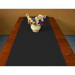 Tischläufer Aida 40x90 cm schwarz