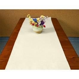 Tischläufer Aida 40x90 cm ecru