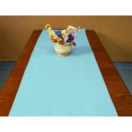 Tischläufer Aida 40x90 cm blau