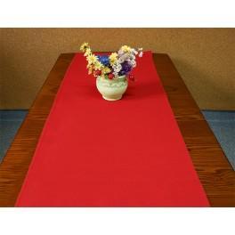Tischläufer Aida 40x90 cm rot