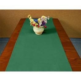 Tischläufer Aida 40x90 cm grün