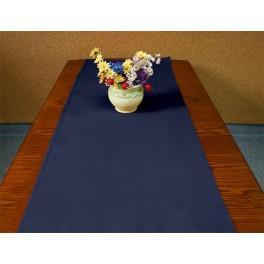 Tischläufer Aida 40x90 cm dunkelblau