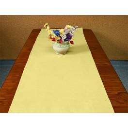 Tischläufer Aida 40x90 cm gelb