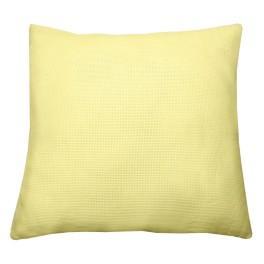 Kissen 40x40 cm, 14 ct gelb