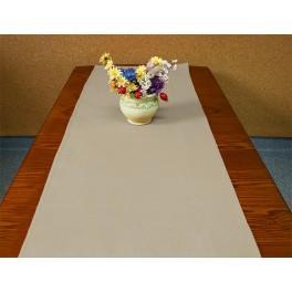 Tischläufer Aida 40x90 cm cappuccino
