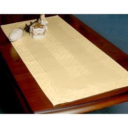 Tischläufer Land 42x98 cm Cremig