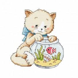 W 8723 Zahlmuster online - Spielereien mit Fisch