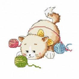 Stickpackung - Katzenstreiche