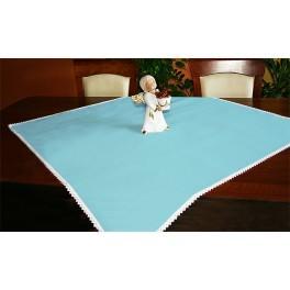 Tischdecke Aida 90x90 cm blau