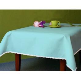 Tischdecke Aida 110x160 cm blau