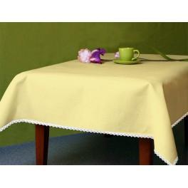 Tischdecke Aida 110x160 cm gelb