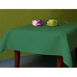 972-07 Tischdecke Aida 110x160 cm grün