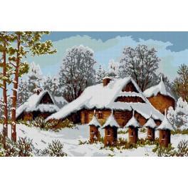 Zählmuster - Binnenstöcke im Winter