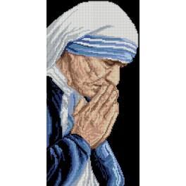 Zählmuster - Heilige Teresa von Kalkutta