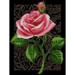 Zählmuster - Rose