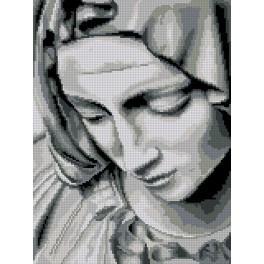 Zählmuster - Michelangelos Pietà