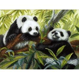 Stickpackung - Pandas