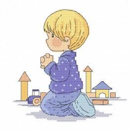 Stickpackung - Das Jungegebet