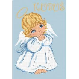 Aida mit Aufdruck - Engelchen für Junge