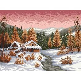 Gobelin - Der Winterabend