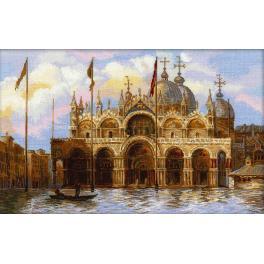 Stickpackung - Venedig. Markusplatz