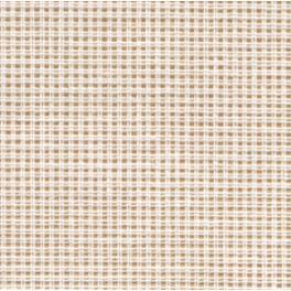 963-01 Kanevas verspannt Größe 60/10 cm - weiß