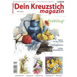 Dein Kreuzstich Magazin 2/2018