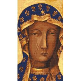 K 10121 Gobelin - Schwarze Madonna von Tschenstochau