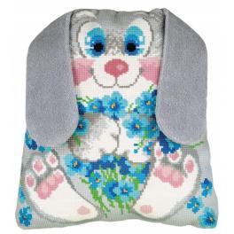 Set mit Wollgarn - Kissen - Kaninchen