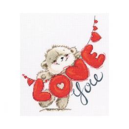 Stickpackung - Ich liebe dich